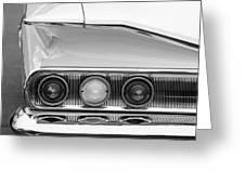 1960 Chevrolet Impala Tail Lights Greeting Card
