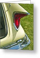 1960 Chrysler 300-f Muscle Car Greeting Card