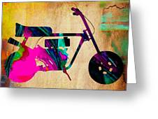 1960's Mini Bike Greeting Card
