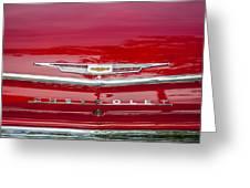 1962 Chevy Impala 409 Greeting Card