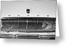 1962 Dodge Dart Grille Emblem Greeting Card