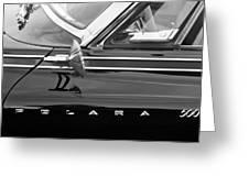 1962 Dodge Polara 500 Side Emblem Greeting Card