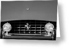 1963 Ferrari Grille Emblem Greeting Card