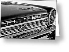 1963 Ford Galaxie 500xl Taillight Emblem Greeting Card by Jill Reger
