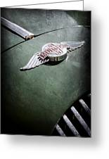 1964 Morgan 44 Hood Emblem Greeting Card