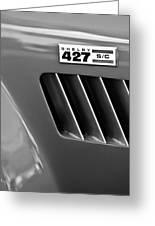 1965 Shelby Cobra 427 Emblem Greeting Card