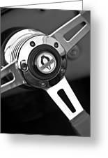 1965 Shelby Cobra 427 Steering Wheel Emblem Greeting Card
