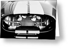 1965 Shelby Cobra Grille Greeting Card