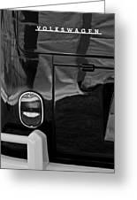 1966 Volkswagen 21-window Microbus Taillight Emblem Greeting Card
