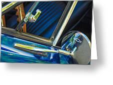 1967 Chevrolet Camaro Ss 350 Rear View Mirror Emblem Greeting Card
