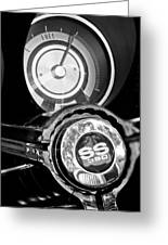 1967 Chevrolet Camaro  Ss Steering Wheel Emblem Emblem Greeting Card