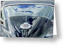 1967 Chevrolet Corvette Rear Emblem Greeting Card by Jill Reger
