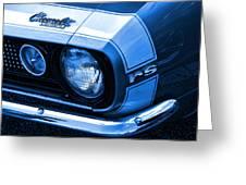 1967 Chevy Camaro Rs Greeting Card