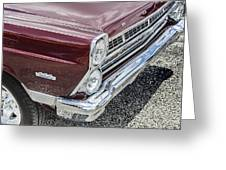 1967 Ford Fairlane 500xl Greeting Card