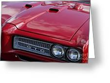 1968 Gto Greeting Card