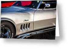 1969 Chevrolet Corvette 427   Greeting Card