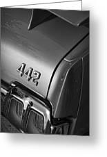 1970 Oldsmobile 442 W-30 Greeting Card