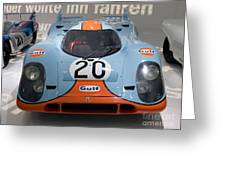 1970 Porsche 917 Kh Coupe Greeting Card