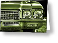 1971 Buick Gs Greeting Card