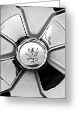 1971 Iso Fidia Wheel Emblem Greeting Card