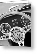 1972 Ginetta Steering Wheel Emblem Greeting Card