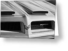 1974 Pontiac Firebird Grille Emblem Greeting Card