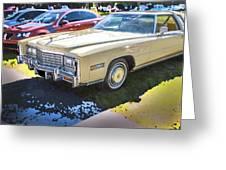 1978 Cadillac Eldorado Greeting Card