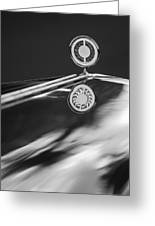 1979 Clenet Hood Ornament -183c Greeting Card