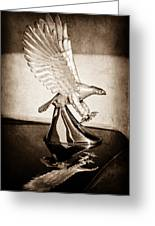1986 Zimmer Golden Spirit Hood Ornament Greeting Card
