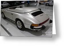 1987 Porsche 911 Carrera 3.2 Speedster Studie Greeting Card