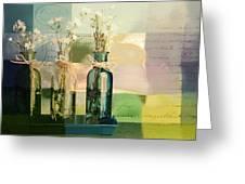 1-2-3 Bottles - J091112137 Greeting Card