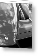 2003 Ferrari Enzo Hood Emblem Greeting Card
