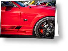 2006 Ford Saleen Mustang  Greeting Card