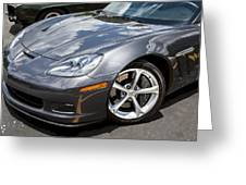 2010 Chevy Corvette Grand Sport Greeting Card