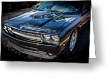 2010 Dodge Challenger Rt Hemi    Greeting Card