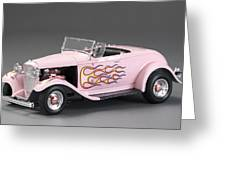 '32 Ford Hot Rod Greeting Card
