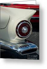 57 Ford Thunderbird  Greeting Card