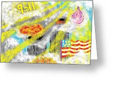 9-11 Greeting Card by Joe Dillon