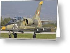 A Bulgarian Air Force L-39 Albatros Greeting Card