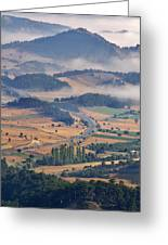 A Foggy Day Greeting Card