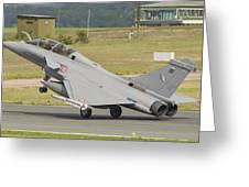 A French Air Force Rafale Jet Greeting Card