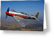 A Hawker Sea Fury T.mk.20 Dreadnought Greeting Card