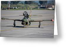 A Hellenic Air Force T-2 Buckeye Greeting Card