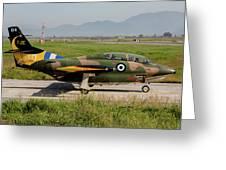 A T-2e Buckeye Trainer Aircraft Greeting Card