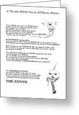 A Terrible Rhyme Greeting Card