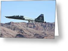 A U.s. Air Force T-38c Taking Greeting Card