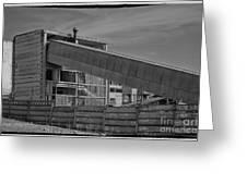 Abandoned Factory At Vadu Greeting Card