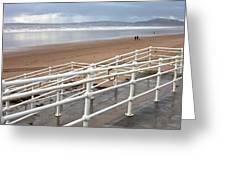 Aberafan Beach Greeting Card