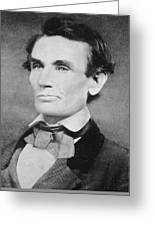 Abraham Lincoln Greeting Card by Unknown