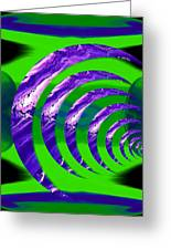 Abstract 123 Greeting Card